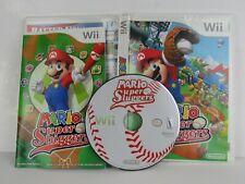 Nintendo Wii Game: Mario Super Sluggers with Manual