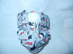 Female Dog Puppy Pet Diaper Washable Pants Sanitary Underwear SNOW DOGS XXS