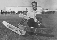 "Model Airplane Plans (FF): RAIDER 340 55"" Wingspan 1/2A Gas by Mel Schmidt"