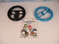 Nintendo Wii Mario Kart With 2 Wheels Looks And Works Great B3