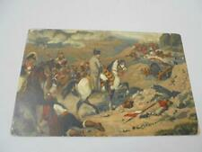 POSTCARD LITHOGRAPH NAPOLEON AT SOMO SIERRA Painted by BELLANGE