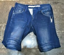 883 POLICE PICOLINO DECONSTRUCTED  JEANS HIPSTER SKATER CASUAL SIZE 32