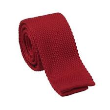 High Quality Men's Fashion Tie Knit Knitted Tie Slim Woven UK Seller colours