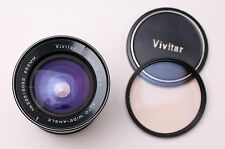 Vivitar 28mm f/2.5 Auto Wide-Angle Lens by Kino Pentax K Caps & Filter (#2106)