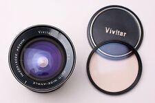 Vivitar 28mm f/2.5 Auto Wide-Angle Lens for Konica AR  Kino Caps Filter (#2106)