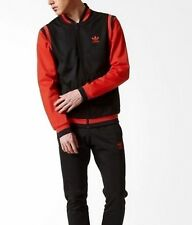 Lg adidas Originals Men's Winter Track Top & Cuffed Track Pants Last1