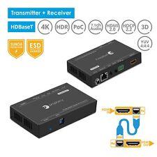 gofanco Pro HDBaseT HDMI 2.0 Extender - 1080p@100m 4K@70m - (PRO-HDbaseT-100)
