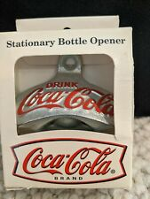 Coca Cola Stationary Bottle Opener By Starr-Brand New In Original Box-Free Ship