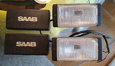 Saab 99 900 Bosch fog lamps with covers Genuine Accessory SPG EMS Turbo vintage
