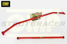 OMP FRONT UPPER & LOWER STRUT BRACE SET FOR FIAT 500 ABARTH