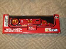 New 1995 Bill Elliot Racing Champions Mcdonald'S Racing Team Transporter*