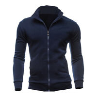 Men's Winter Warm Slim Fit Hoodie Jumper Sweatshirt Coat Jacket Outwear Sweater