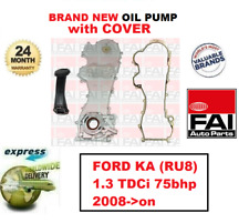 FOR FORD KA (RU8) 1.3 TDCi 75bhp 2008->on BRAND NEW FAI OIL PUMP + COVER +GASKET