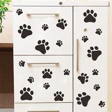 Dog Paw Print Decals Pet Animal  Wall Window Floor Stickers Big Set