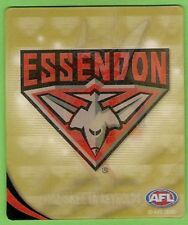 2010 AFL GOLD TAZO # 25 ESSENDON BOMBERS  MASCOT still in bag