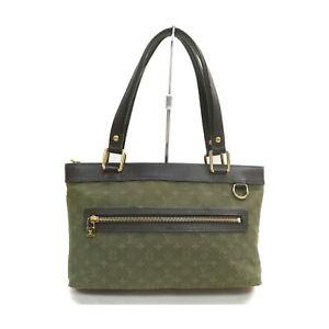 Louis Vuitton LV Tote Bag M92682 Lucille PM Olive Monogram Mini lin 2303102