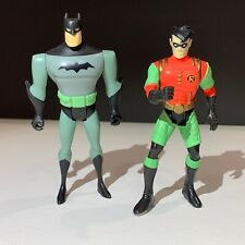 Vintage 1994 - 98 Animated Series Batman & Robin Action Figures DC Comics