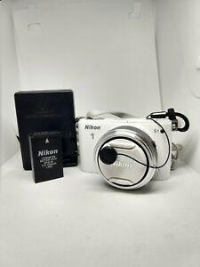 Nikon 1 S1 10.1MP Digital Camera - White (Kit w/ 11-27.5mm Lens)