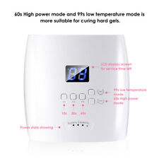 48W Rechargeable Uv Led Gels Nail Lamp Dryer Quick-Drying Polish Curing Machine