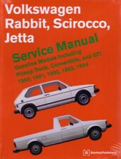 1980-1984 1983 VW Jetta Rabbit Scirocco Shop Service Repair Manual Book Engine