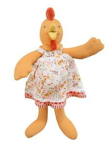 Moulin Roty La Grande Famille 20 cm Soft Toy Felicie the Chicken from Wyestyles