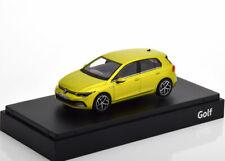 1:43 Norev VW Golf 8 2020 yellow-greenmetallic