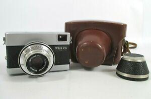 Werra 1 35mm Rangefinder Camera By Carl Zeiss Jena Vintage Camera With Case