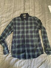 scotch and soda Mens Flannel jacket, Slim Fit Large,