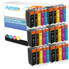 30 pour Canon pixma mg5450 mg5550 mg5650 mg6350 mg6450 mx725 mx925 pgi550 cli551