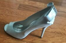 STUART WEITZMANN Women's Cocktail Party Silver Shoes Size 8 M