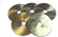5X Metal Disco Sierra Circular HSS Ø125 X 4,0 x2,0 X 0 ,8 x1,6 x2,5 Von Wmw