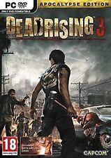 Dead Rising 3 PC DVD Videogame Apocalypse Edition