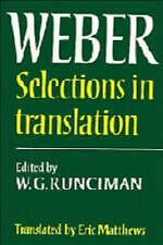 Max Weber: Selections in Translation-ExLibrary