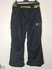 Burton Dryride Snow Pants - Black Snow Ski  Size 14 16 L