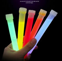 5pc 6 Inch Glow Sticks Camping Emergency Light Stick for Party Concert with Hook