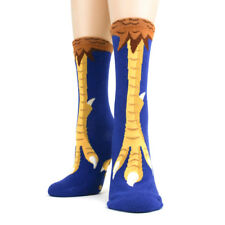 Chicken Feet Foot Traffic Non-Skid Slipper Socks New Women Size 9-11 Fashion