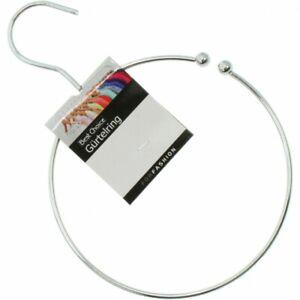 2 Gürtelringe für Gürtel, Schals, Tücher oder auch Krawatten