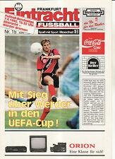 BL 89/90 Eintracht Frankfurt - SV Werder Bremen