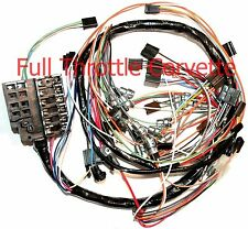 1963 Corvette Dash Wiring Harness. Without Back-Up Lights NEW