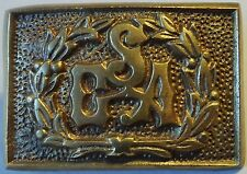 CSA BRASS BELT BUCKLE - NEW CONFEDERATE DIXIE CIVIL WAR - CSA