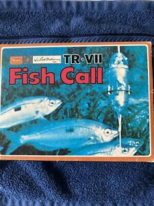 VINTAGE SEARS TR-VII FISH CALL 6 39247 in ORIGINAL BOX & INSTRUCTION BOOKLET NOS