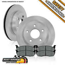 Rear Brake Rotors and Metallic Pads 2004 2005 2006 2007 FORD FREESTAR MONTEREY