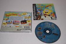 SpongeBob SquarePants SuperSponge Sony Playstation PS1 Video Game Complete