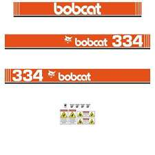 Bobcat 334 X Series Decals Stickers, Repro Aftermarket Decal kit