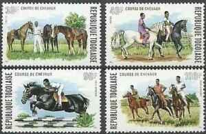 Timbres Chevaux Togo 813/4 PA231/2 ** (34032E)