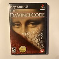The DaVinci Code PS2 Sony PlayStation 2 Video Game Complete & Tested