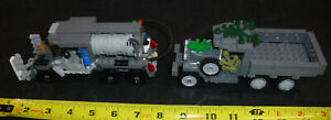 LEGO Military MOC 1 Fuel Vehicle 1 Jeep lot of 2