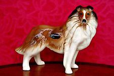 Vintage Coopercraft Porcelain Collie Dog Figurine