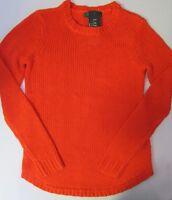 SALE NWOT Lauren Ralph Lauren Crewneck Knit Sweater Orange Size XL