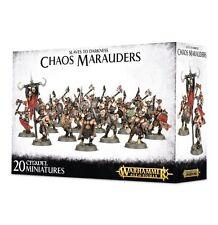Caos Merodeadores-Warhammer edad de sigmar-games Taller-Caja Blanca -
